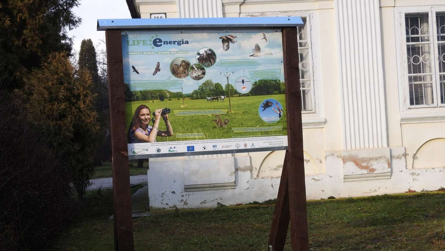 LIFE Energy information boards were installed